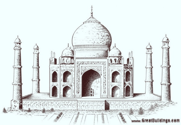 How To Draw The Taj Mahal In Five Simple Steps00008
