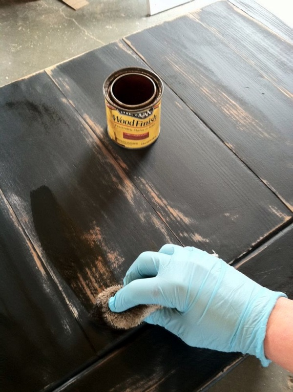 How To Remove Paint Over Varnished Wood