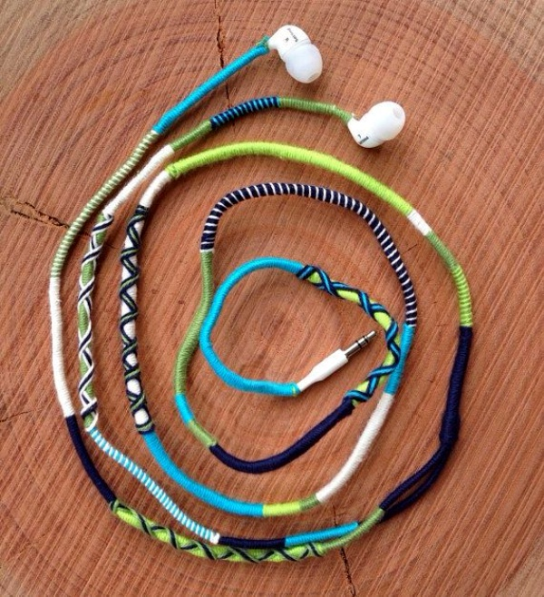 How to make your own Colorful Earphones00011