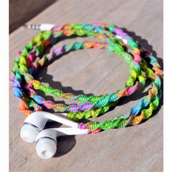 How to make your own Colorful Earphones00016