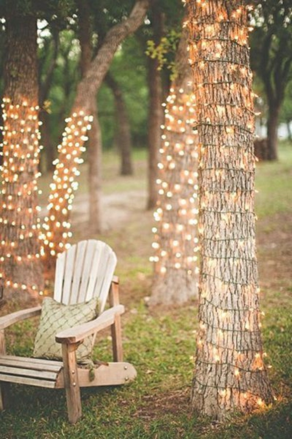 DIY String Light Decoration Ideas