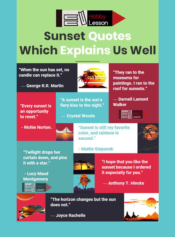 sunset-quotes-which-explain-as-well