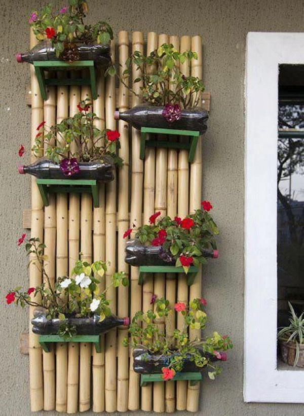 Plastic Bottle Planter ideas