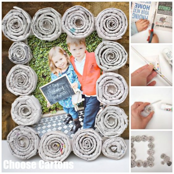 Easy Newspaper Craft Ideas