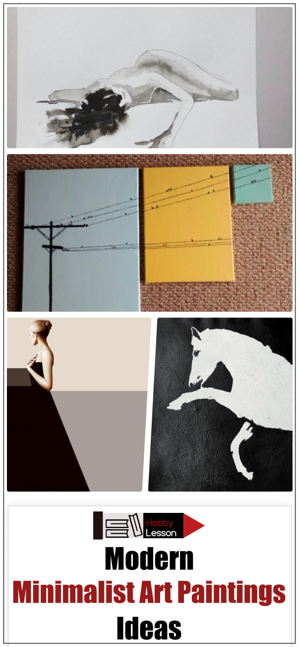 Modern Minimalist Art Paintings Ideas
