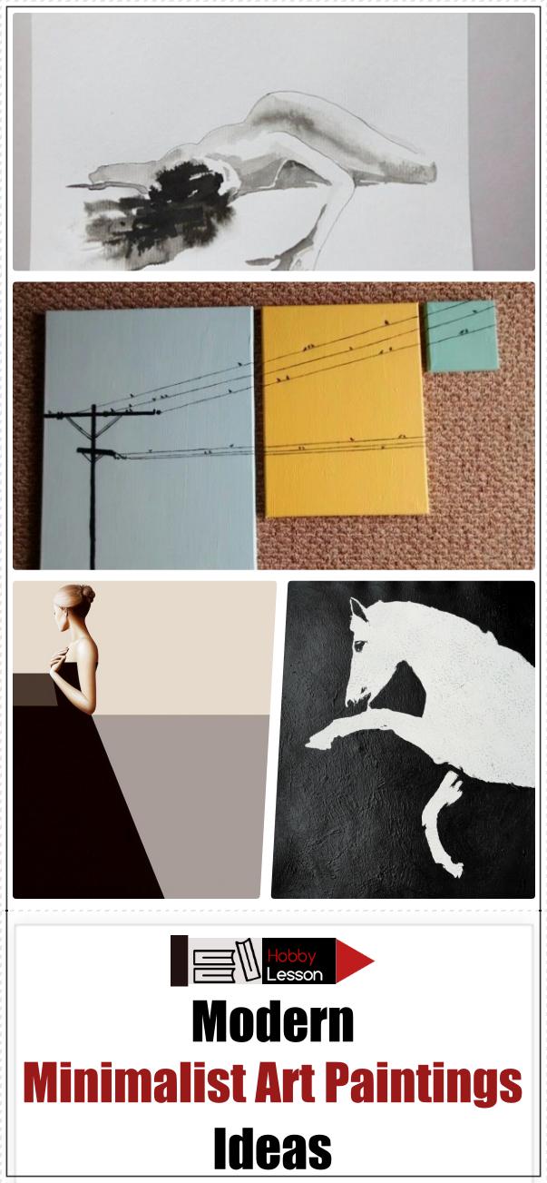 Modern Minimalist Art Paintings Ideas