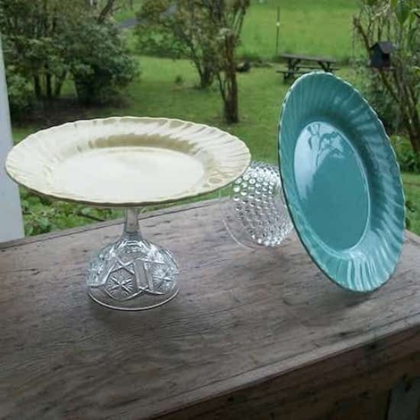 Repurposing or Reusing Broken Dishes