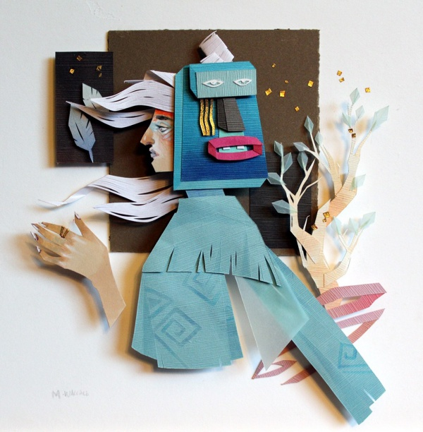 Illustrations with Paper