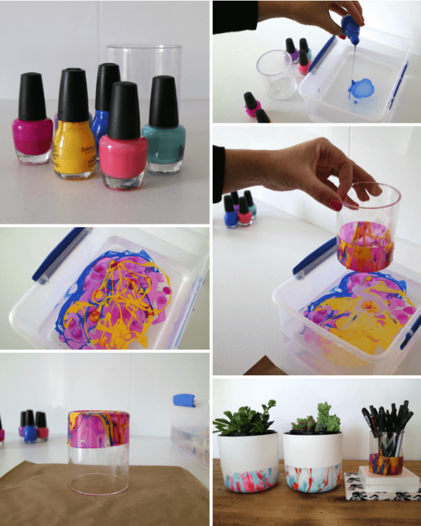 Craftynail: 30 Crafty Use Of Nail Polish