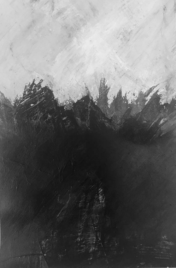 Mixed Black and White Paintings
