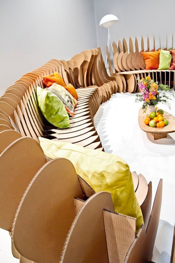 Practically Useful Cardboard Furniture Ideas