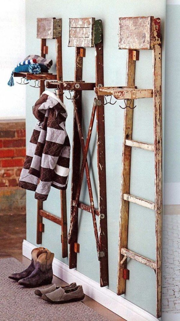 Ways to Reuse Old wooden Ladders