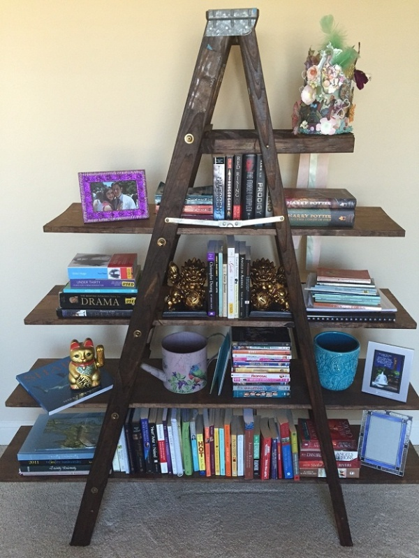 Smart Ways to Reuse Old wooden Ladders