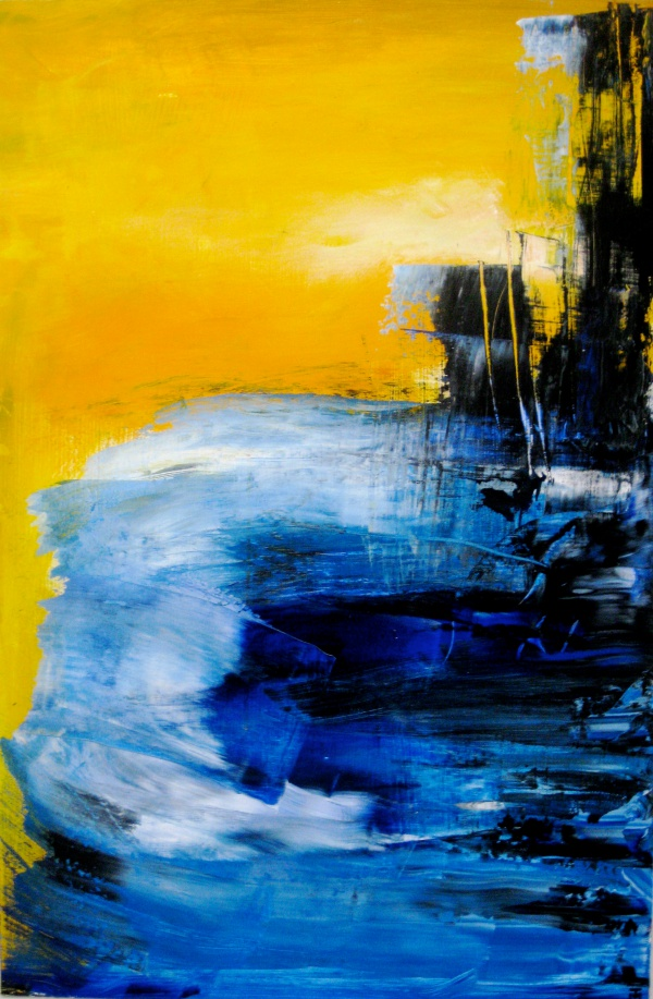 Blue Abstract Paintings to Admire