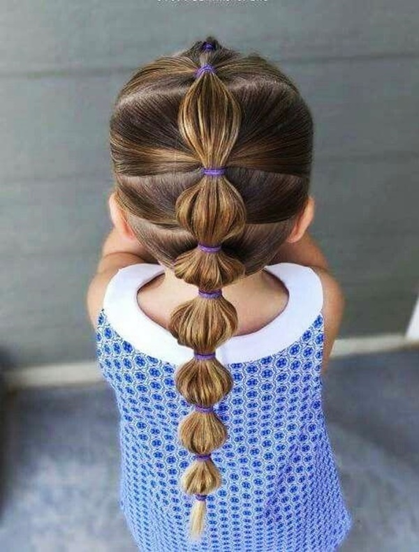 Simple and Easy Girl Toddler Hairstyle