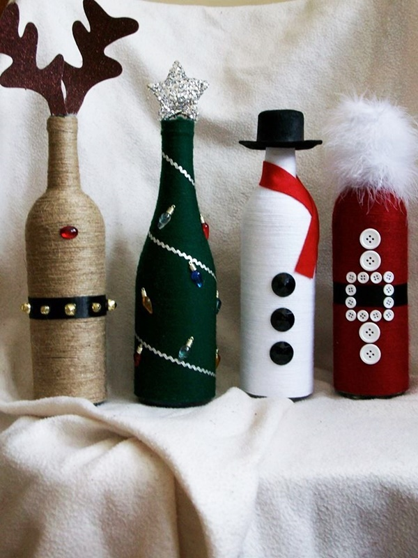 DIY Wine Bottle Painting Ideas for Home Décor