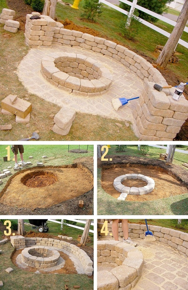 DIY Fire Pit Ideas to make Your Neighbors Jealous
