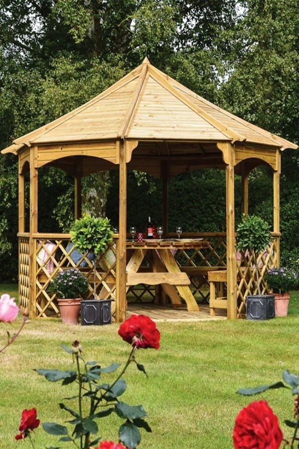 In-Budget Gazebo Ideas for Homes
