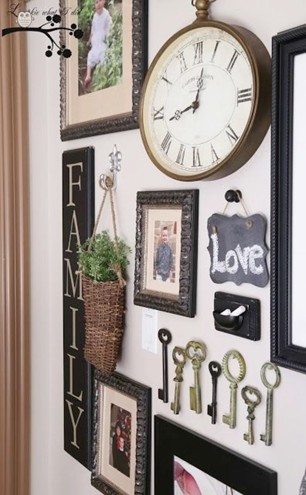 Lovely Family Picture Wall Examples