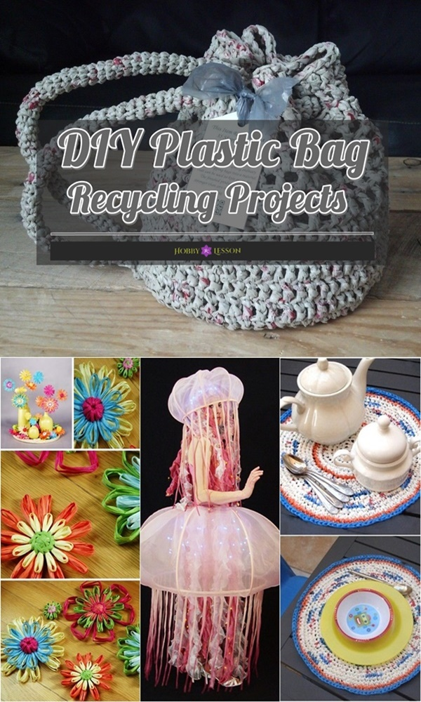 DIY Plastic Bag Recycling Projects