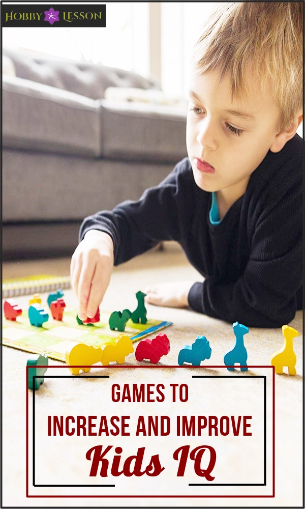 Games to Increase and Improve Kids IQ