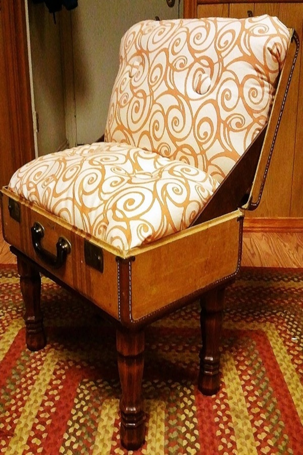 Most Intelligent Ways to Reuse old Vintage Suitcases