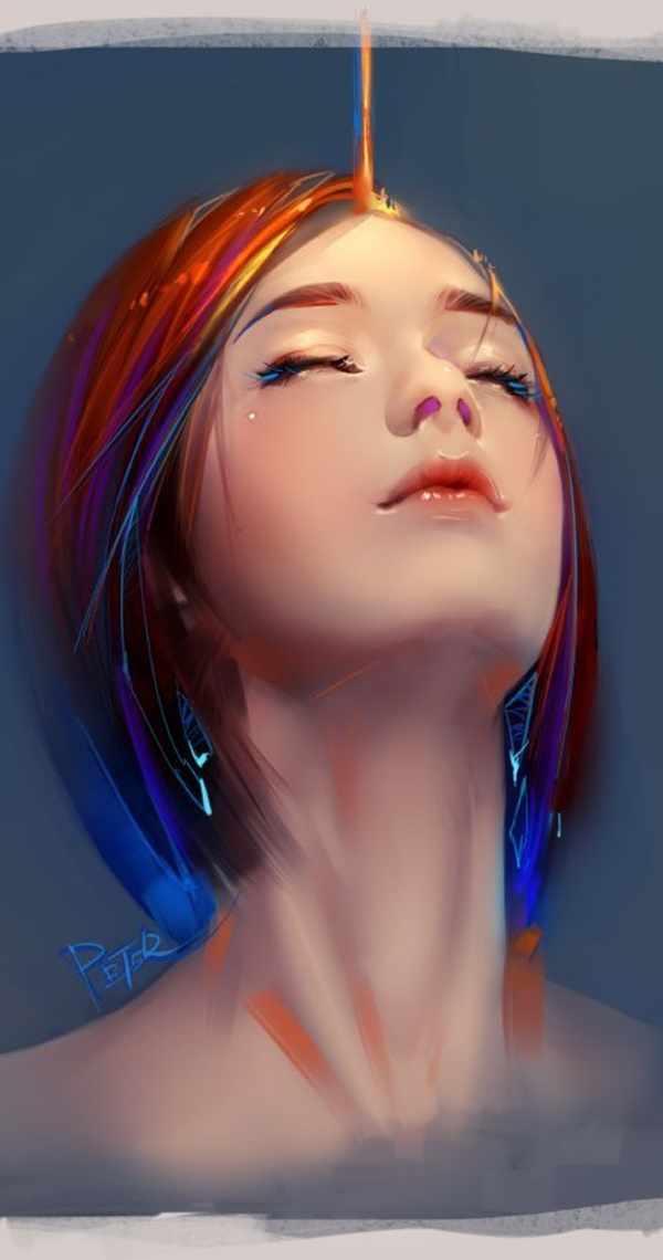 Examples of Digital Paintings which will Pause you for a while