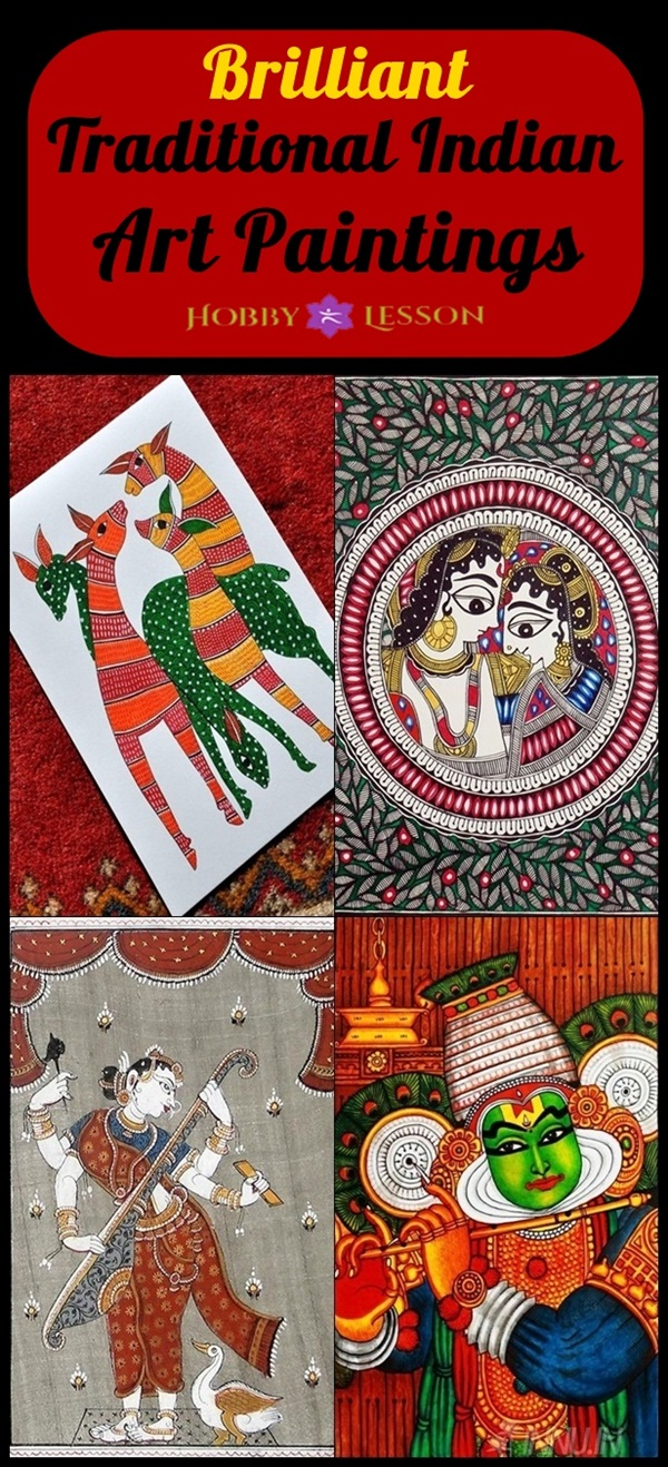 Brilliant Traditional Indian Art Paintings