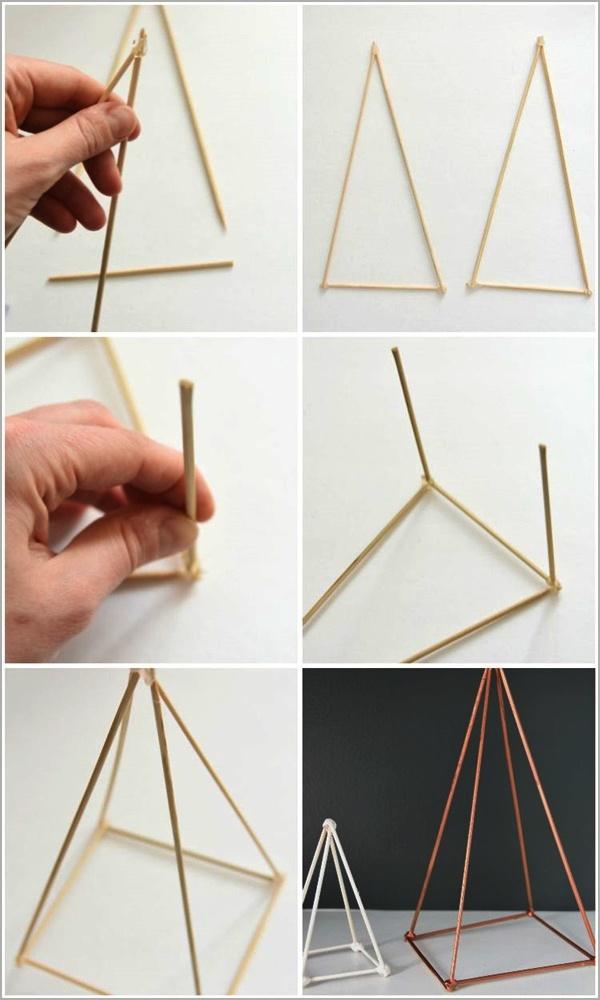 DIY Geometric Sculpture Ideas to Decor Your Home