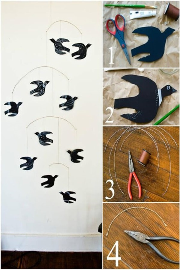 DIY Indoor Decoration Ideas For Bird Lover