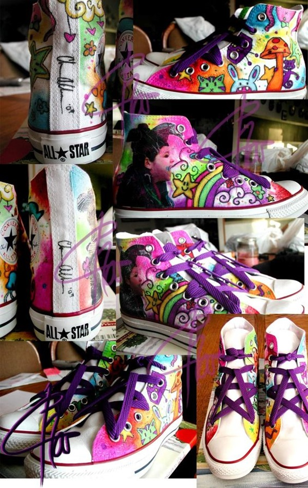DIY Sneaker Art Ideas To Look Awesome