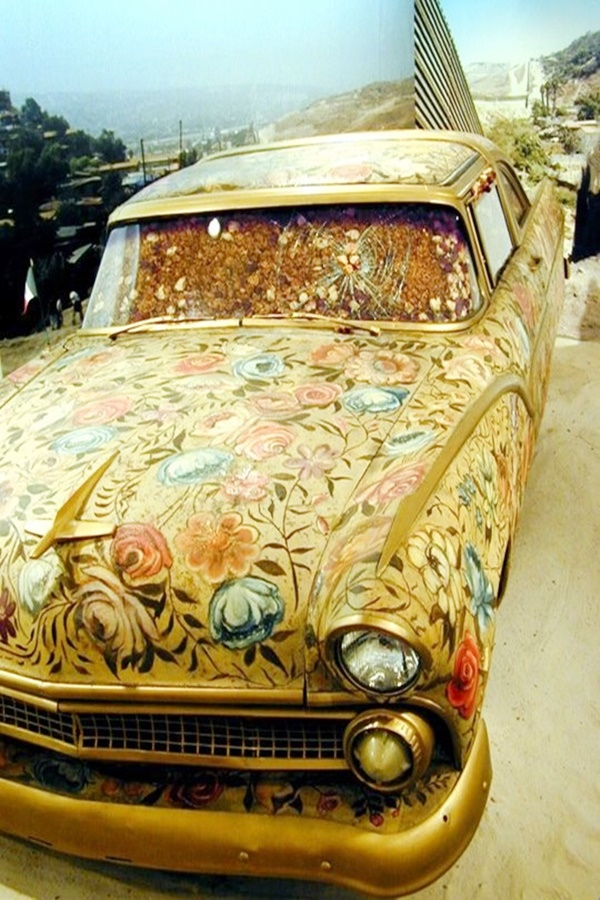 Super Cool Car Paint Job Art Ideas