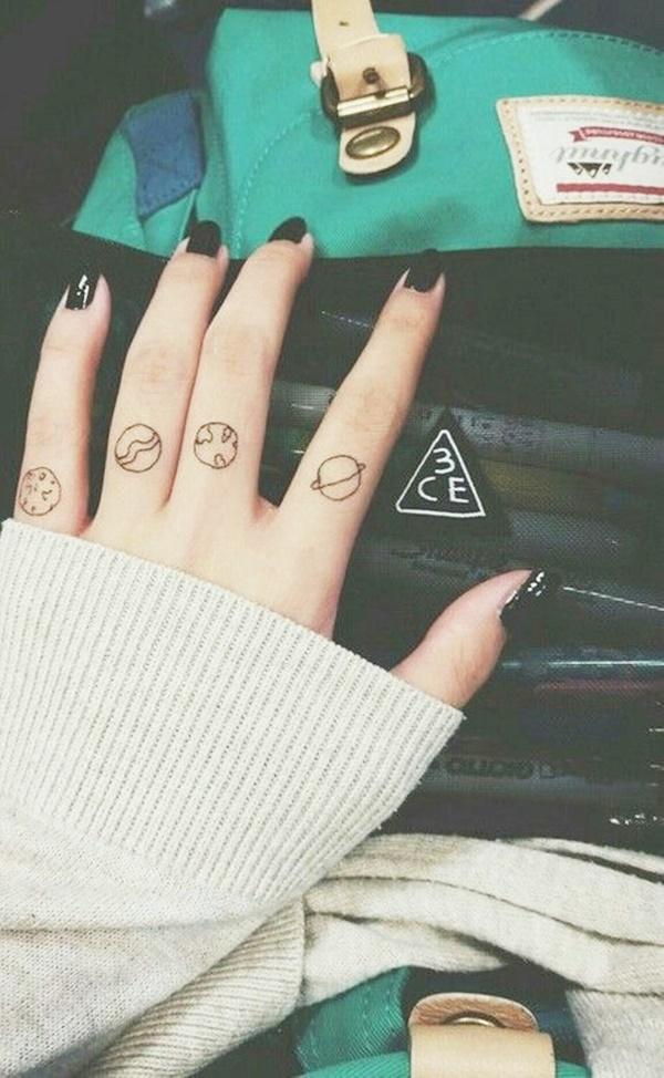 Tiny Yet Meaningful Finger Tattoo Ideas