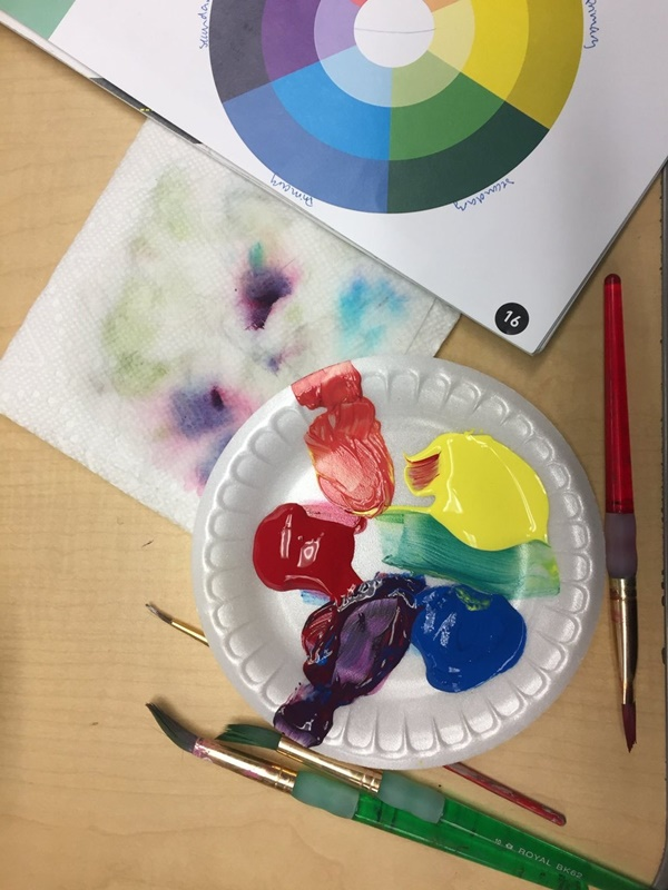 Watercolor Techniques for Testing Color Mixing