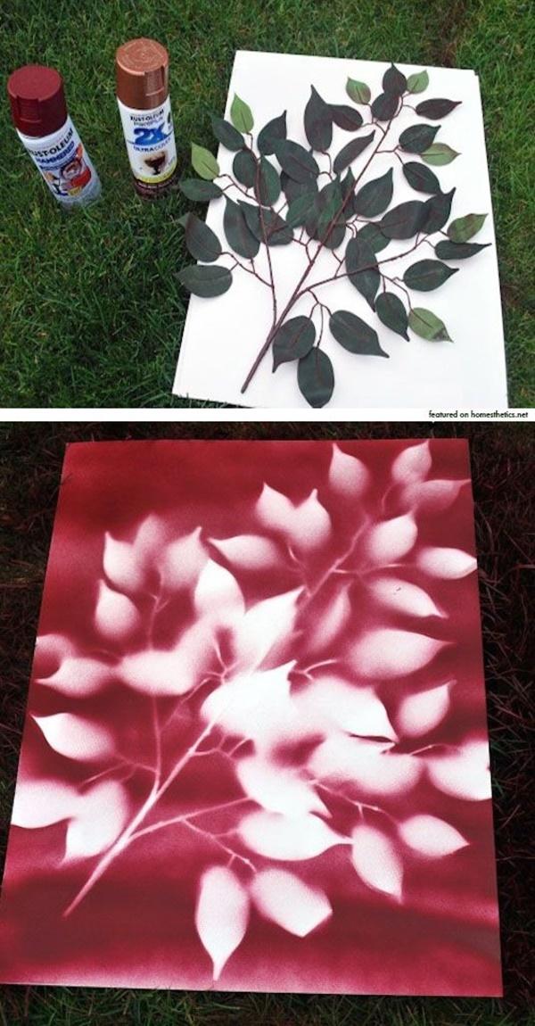 Creative and Easy Cheap DIY Canvas Wall Art Ideas