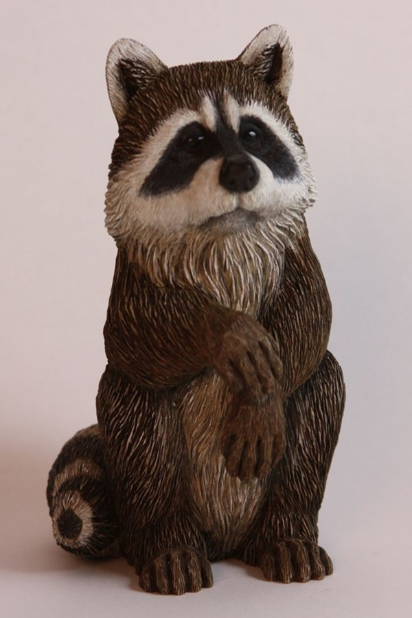 Realistic Handmade Wooden Animals Sculptures