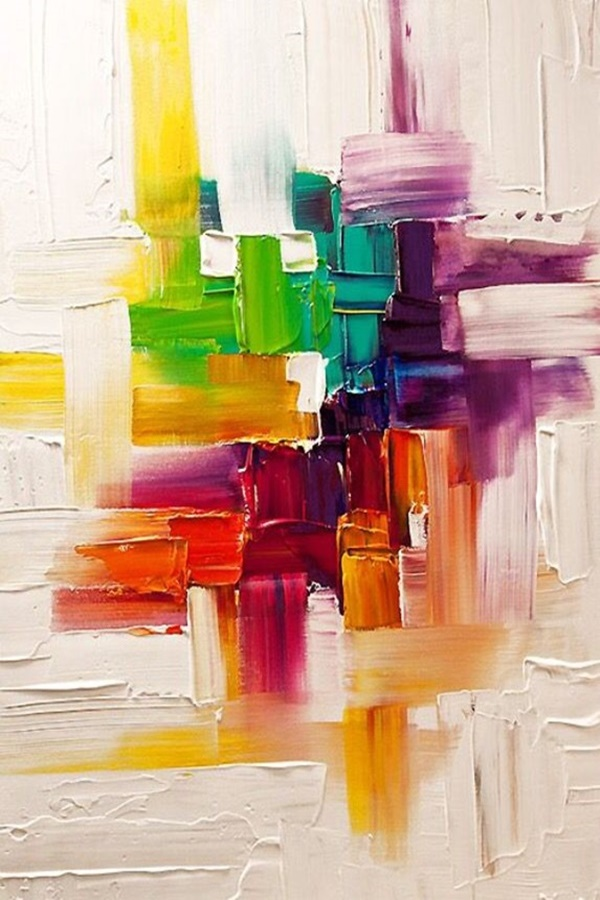 Wall Friendly Modern Abstract Art Paintings