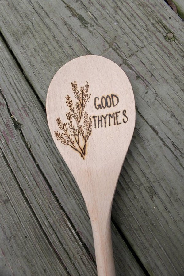 Beautiful Examples Of Engraved Wooden Spoons