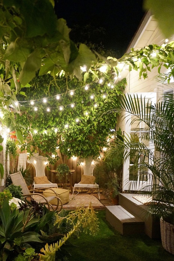Dreamy Decoration Ideas for Backyard