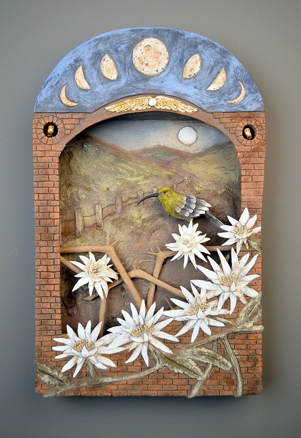 Detailed Clay Wall Art and frames Ideas