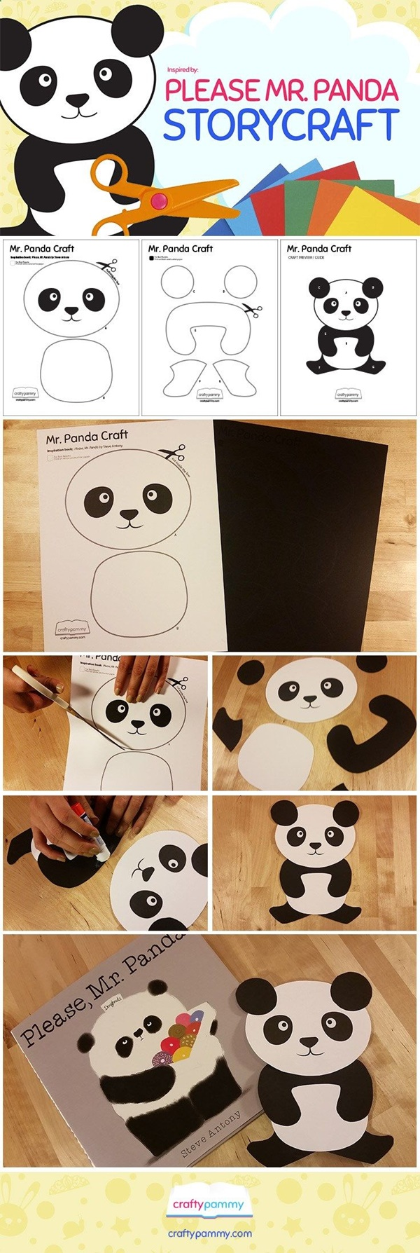 Easy Black and White Craft Ideas for Preschool