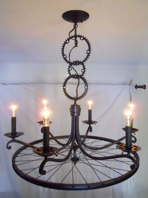 Great Ideas To Recycle Old Bicycle Parts