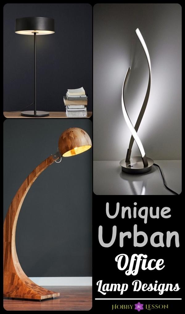 40 Unique Urban Office Lamp Designs