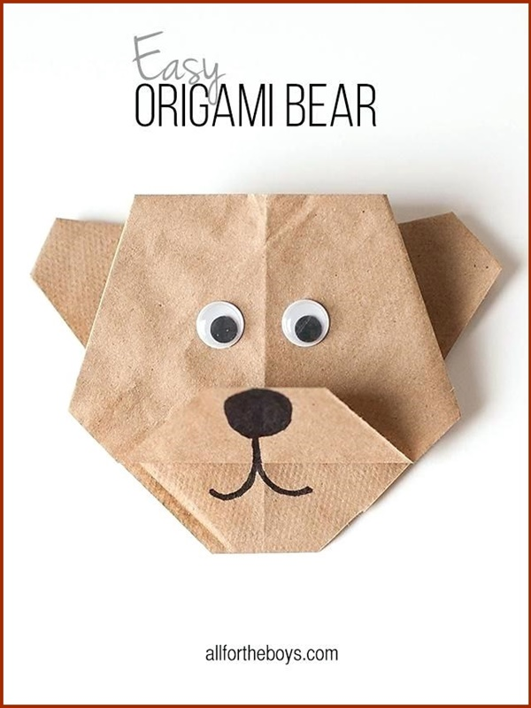 Easy Paper Origami Art Design For Beginners