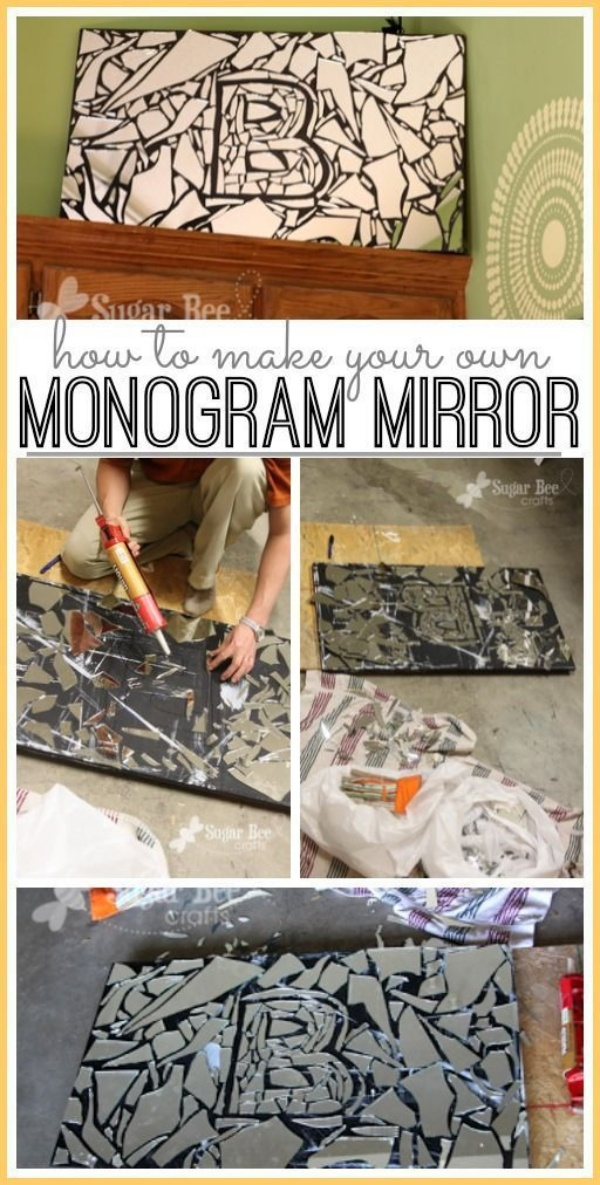 Amazing Ideas to Upcycle Broken Mirror