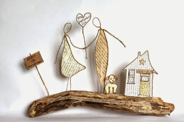 35 DIY Craft Figures Made with Paper Wire