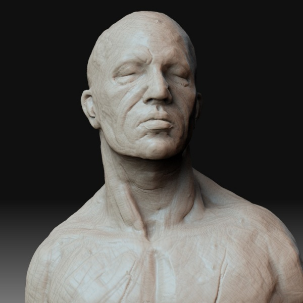 Realistic Human Clay Sculpture For Beginners