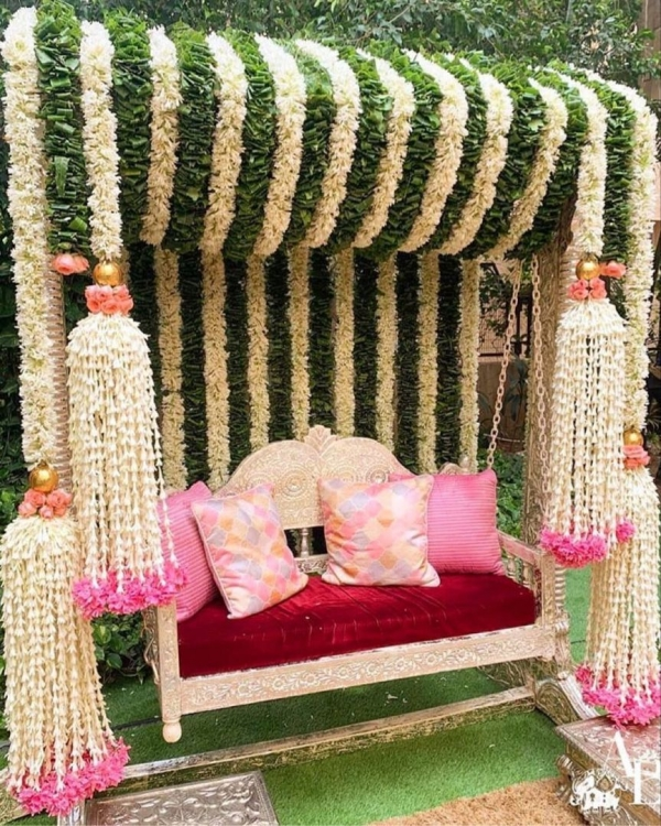 Decoration Ideas For Mehendi Ceremony