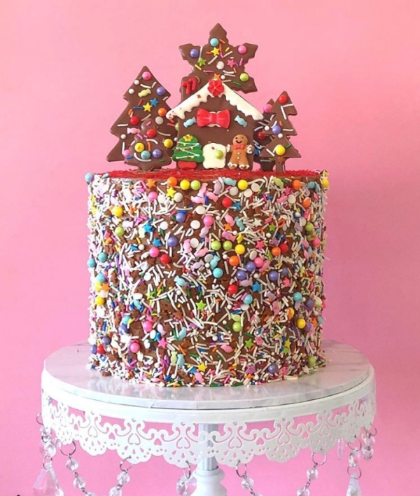 Stunning Christmas Cake Decoration Ideas