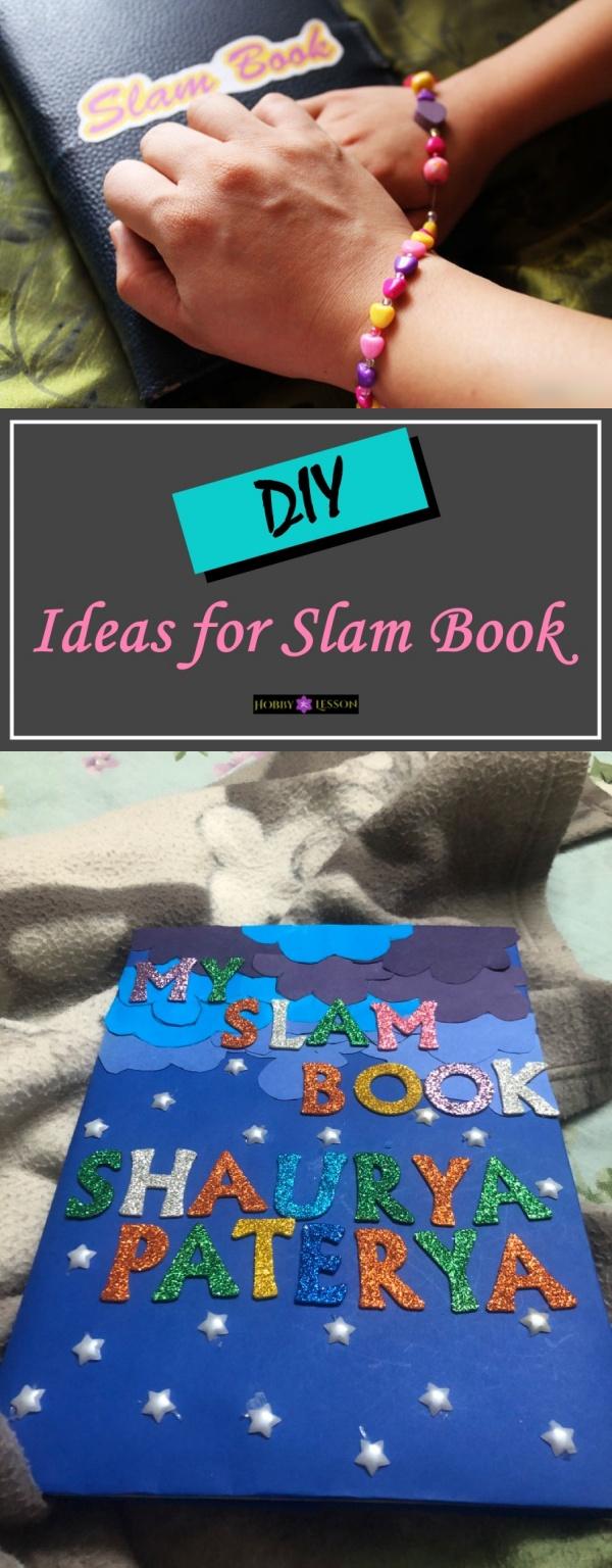 DIY Ideas for Slam Book